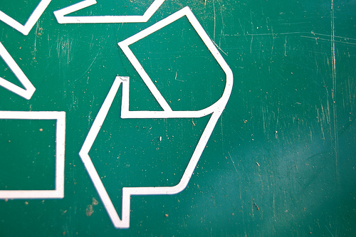 a reminder: reduce, reuse, recycle